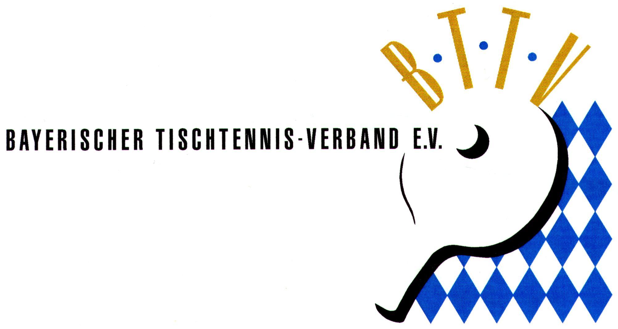 Bildergebnis für bayerischer tischtennis verband logo